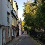 Botolph Lane, Cambridge, May 2020