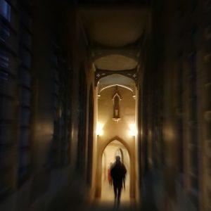 Ghost Tour of Cambridge: Bridge of Sighs at night, St. John's College, Cambridge
