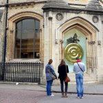 The Corpus Christi Clock (The Chronophage), Cambridge, April 2019
