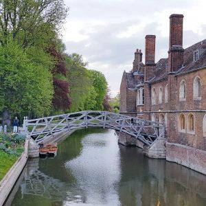 Mathematical Bridge, Queens' College, Cambridge, April 2019