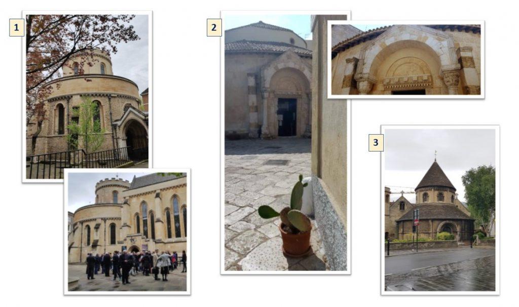 Three Round Churches