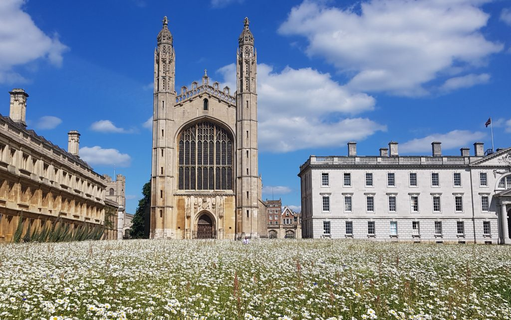 Public Walking Tour of Cambridge: King's College